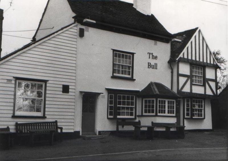 The Bull Pub Corringham History