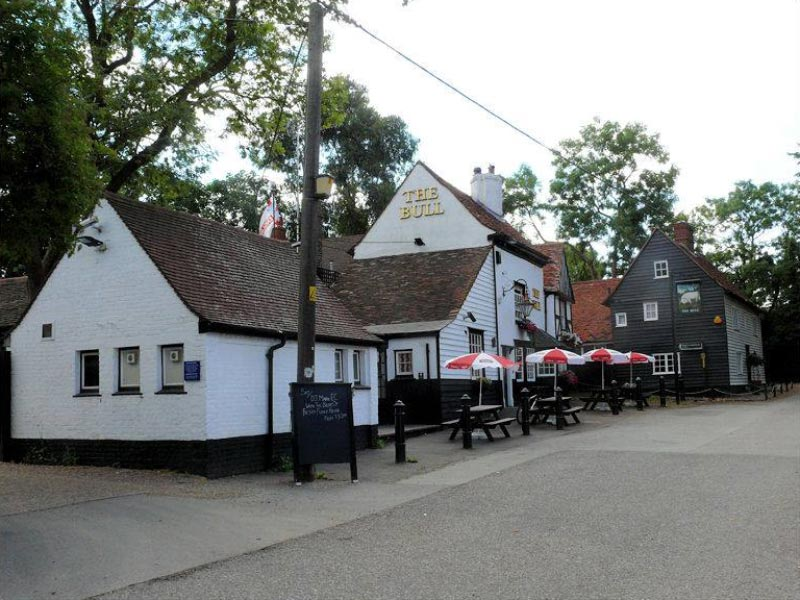 The Bull Pub Corringham History